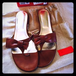 Valentino bow sandal. Size 40