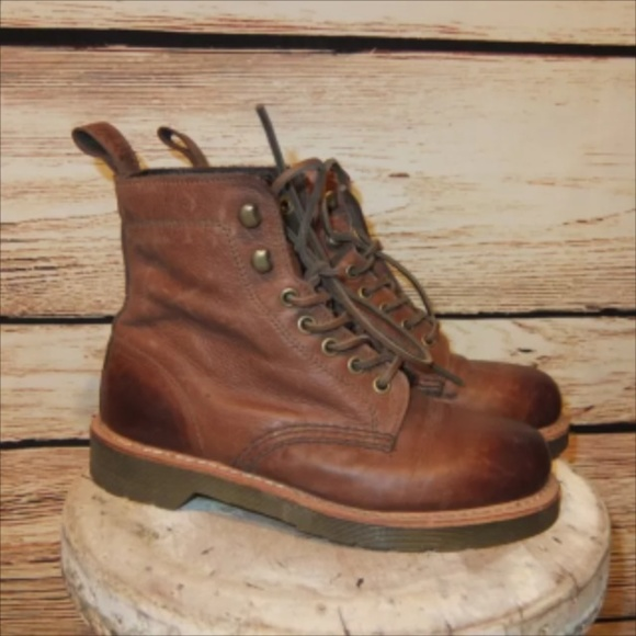 a95053d1118 Dr Marten Womens Brown Soft Leather 1460 Boots 7