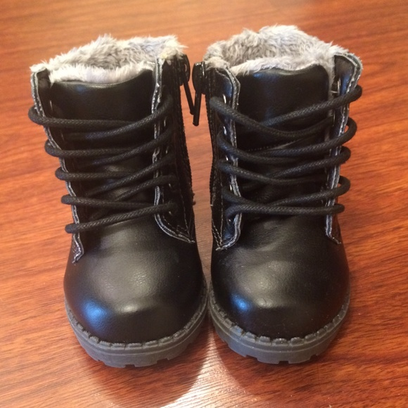 50% off H&M Other - Baby combat boots! 😍 size 2.5-3.5 from ...