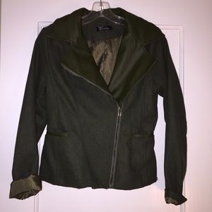 trendology Jackets & Blazers - Trendology Leather/wool? jacket