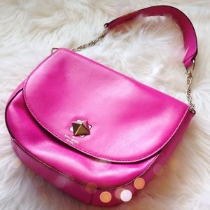 Stunning Kate Spade Hot Pink Bond Street Sawyer