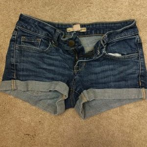Jean Shorts from Forever 21