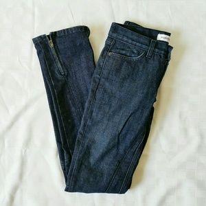 Habitual Denim - Habitual ankle zipper dark wash skinny jeans