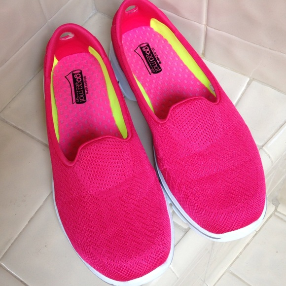 Skechers Shoes | Goga Mat Pink | Poshmark