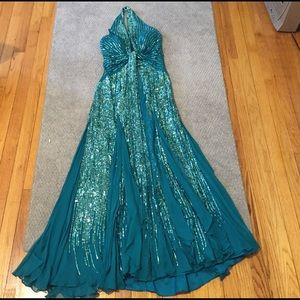 Terani Couture Dresses & Skirts - Couture Turquoise gown