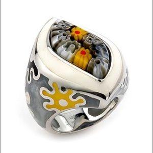 Alan K Jewelry - Murano Glass silver 925 ring by Alan K 2MR231