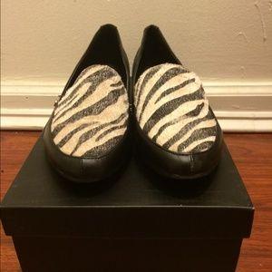 Shoes - ✂️Zebra Print Loafers✂️