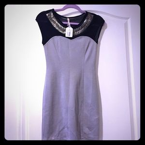 Gray party dress