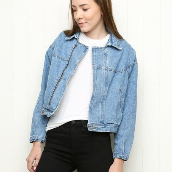 Brandy Melville - Brandy Melville Isabelle Denim Jacket From Vanessau0026#39;s Closet On Poshmark