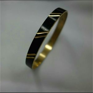 Jewelry - Vintage Napier enamel and gold bracelet