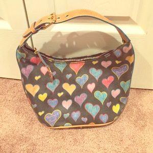 Dooney & Bourke Heart Bucket Purse