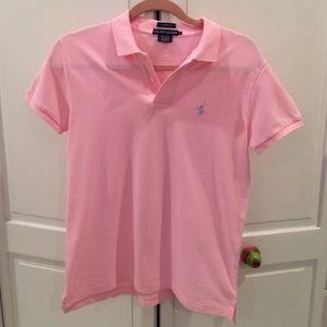 Ralph Lauren- Pink Classic Polo