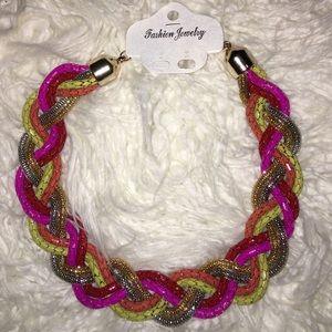 Jewelry - New vibrant statement necklace!