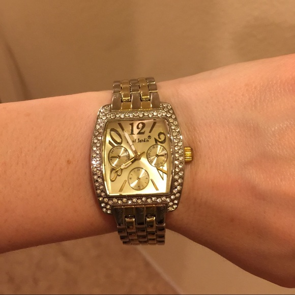 Paul jardin paul jardin watch from melissa 39 s closet on for Jardin jewelry