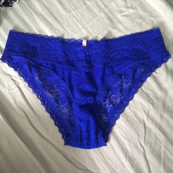 Royal Blue Panties 30