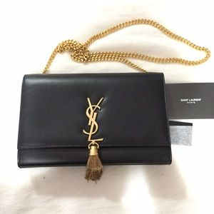 college purse - 25% off Yves Saint Laurent Handbags - AUTH YSL Medium Monogram ...