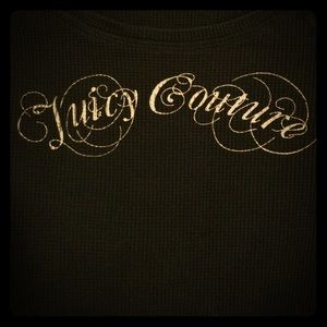 Juicy Couture Black Top