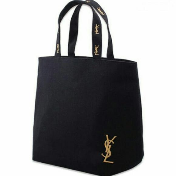 7d100d078f63 YSL parfum canvas shopper tote bag. M 556732024e8d1727560021dd