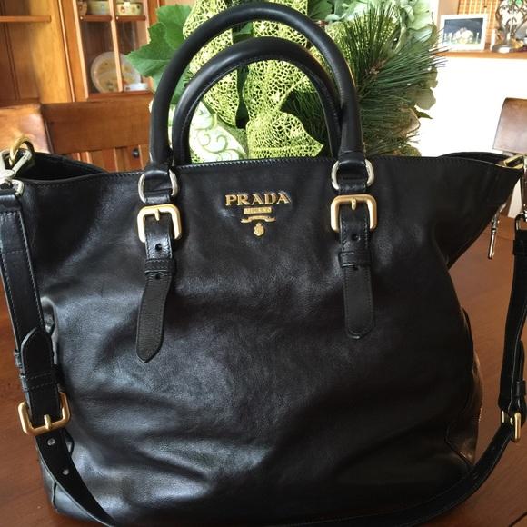 prada handbag uk - 36% off Prada Clutches \u0026amp; Wallets - Prada Cervo Antik Small Wallet ...