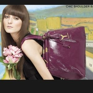 72% off Yves Saint Laurent Handbags - Ysl $1400 majorelle handbag ...