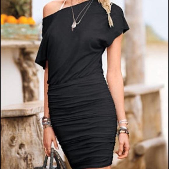 48b903cbe60 Victoria's Secret Dresses | Victorias Secret Red Off The Shoulder ...