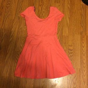 Peach sundress never worn!!