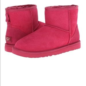 Authentic UGG mini boots