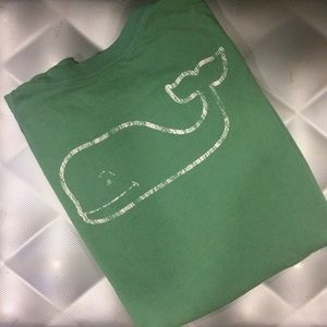 Long Sleeve Whale Graphic T-Shirt