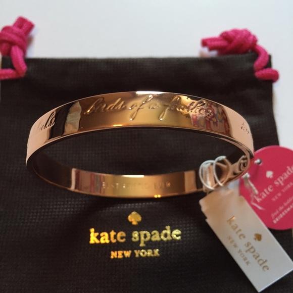 Kate Spade Jewelry Nwt Bridesmaid Idiom Bangle Poshmark
