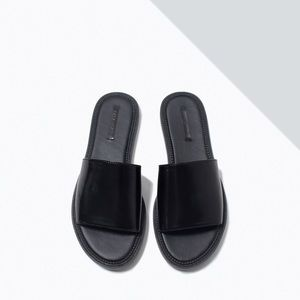 Zara Shoes - Zara Slip-On Slide Sandals
