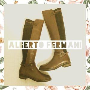 Alberto Fermani Shoes - Alberto Fermani Adria Leather/Suede Boots