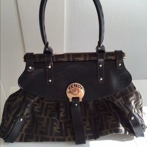 Fendi zucca Large magic handbag