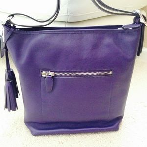 fb3b14c97d6 ... store coach bags coach legacy leather duffle in purple marine f9178  c2619