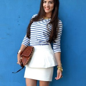 Zara Dresses & Skirts - White tulip skirt