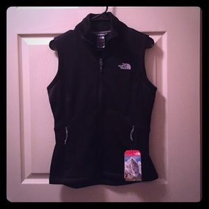 Black vest from The North Face