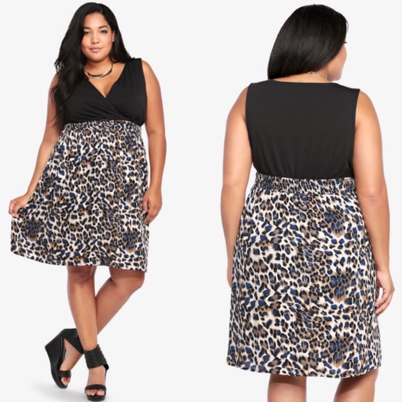 29% off torrid Dresses & Skirts - Torrid Animal Print Tank Dress ...
