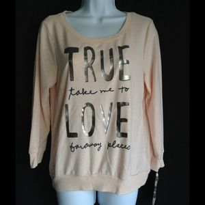 Tops - True love sweater size Large