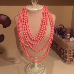 Riff Raff Jewelry - Pink Beaded Necklace