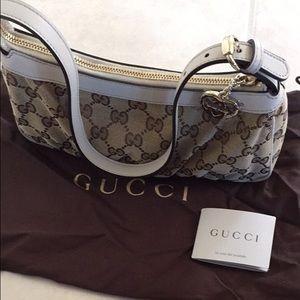 c900186d447 Gucci Bags | Nwt Classic Logo Baguette Bag Small Hobo | Poshmark