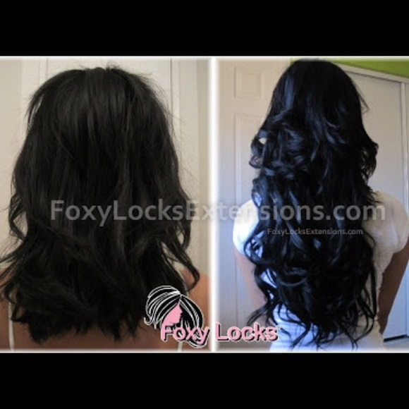Foxy Locks Hair Extensions Other Foxy Locks Clip In Hair
