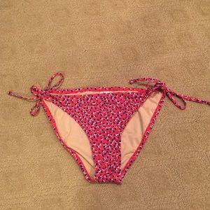 J crew bikini tie bottoms