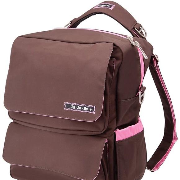 29 off jujube handbags ju ju be packabe backpack style diaper bag from tha. Black Bedroom Furniture Sets. Home Design Ideas