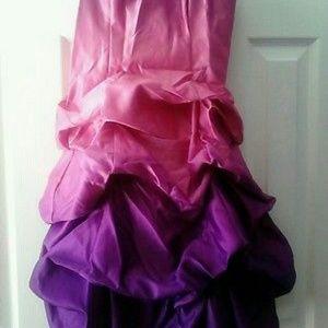 Blondie Nites Dresses & Skirts - Blondie Nites by Stacy Sklar Ombre Prom Dress