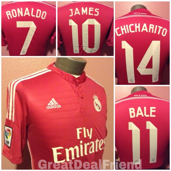 new products 86410 31309 Chicharito jersey soccer futbol Real Madrid ball NWT