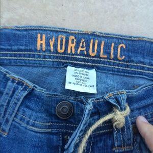 Hydraulic Jeans Size 1/2