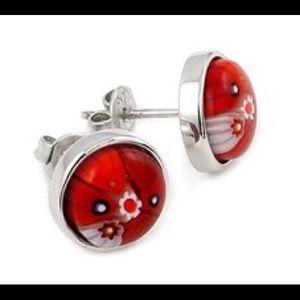 Alan K Jewelry - Murano Glass silver 925 Earrings by Alan K 8ME13C2