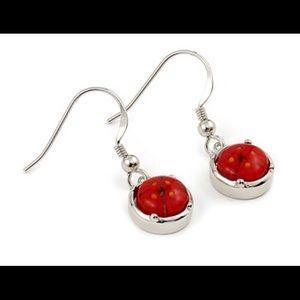 Alan K Jewelry - Murano Glass silver 925 Earrings pair by AlanK