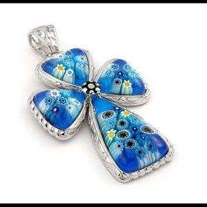 Alan K Jewelry - Murano Glass silver 925 pendant by Alan K 8MP420