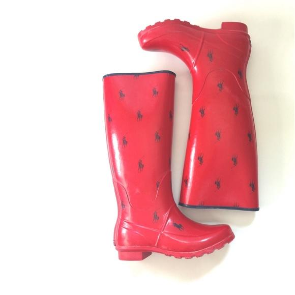 b208ea19af9 Polo Ralph Lauren Rain Boots