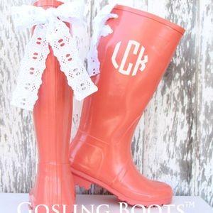 Camo Rain Boots with Custom Bows Size 5,6,8,10,11 from Sandra's ...